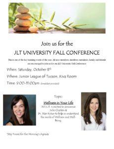 Fall JLT University Flyer